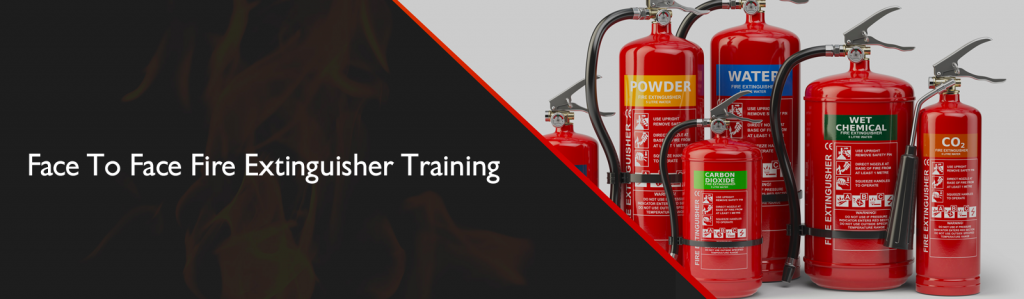 Face to face fire extinguisher training
