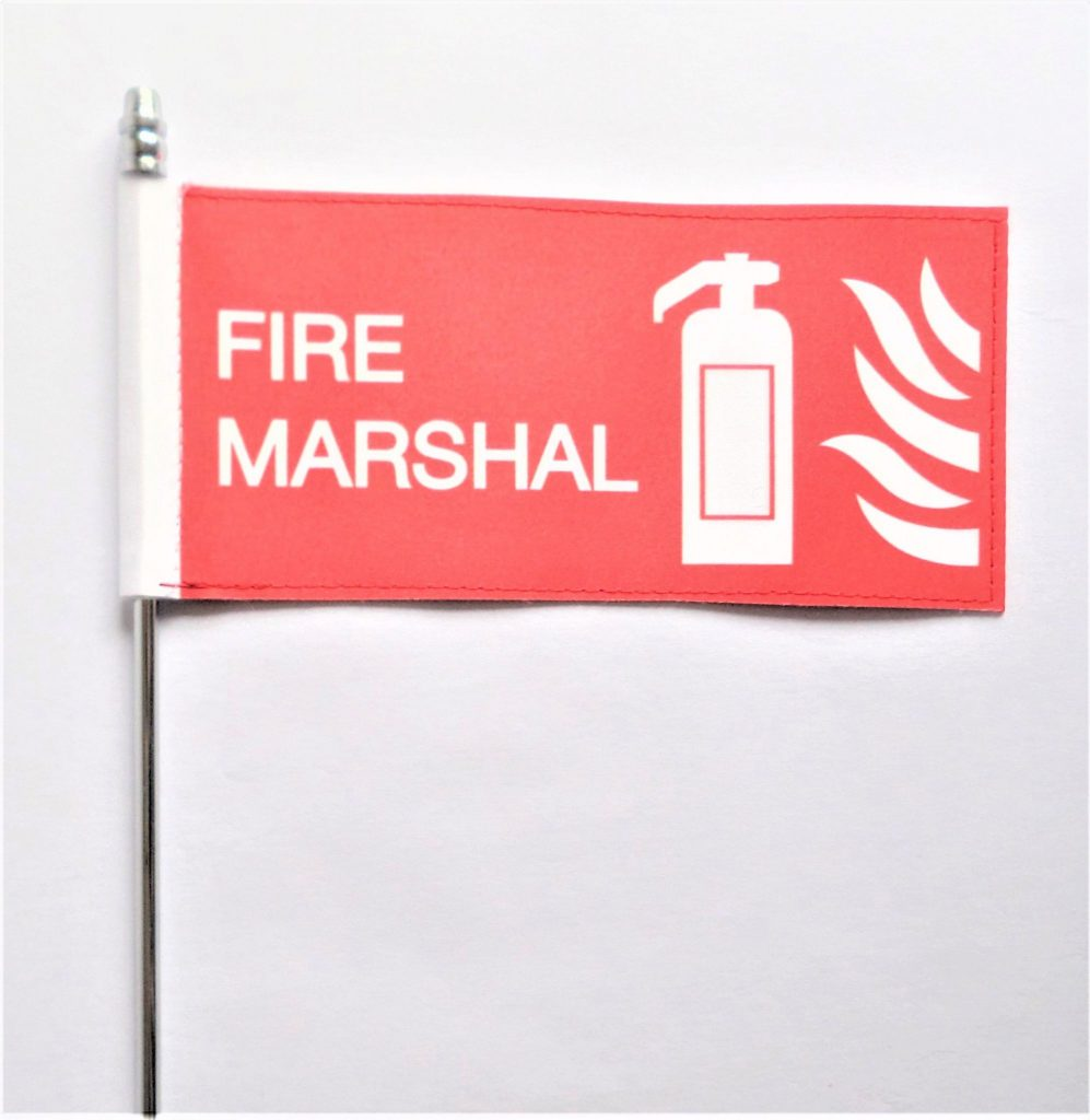 fire marshal flag